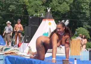 Naked native american women